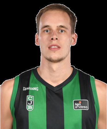 Klemen Prepelic es uno de los jugadores del Valencia Basket 2020-2021