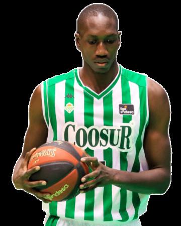 Mamadou Niang es uno de los jugadores del Coosur Real Betis 2020-2021