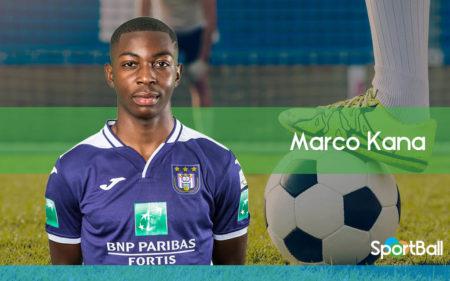 Marco Kana es uno de los mejores defensas jóvenes belgas