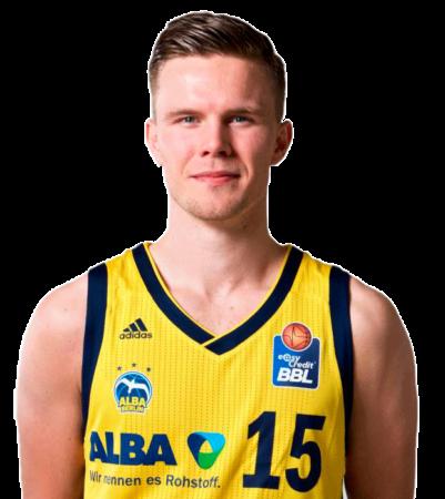 Martin Hermansson es uno de los jugadores del Valencia Basket 2020-2021