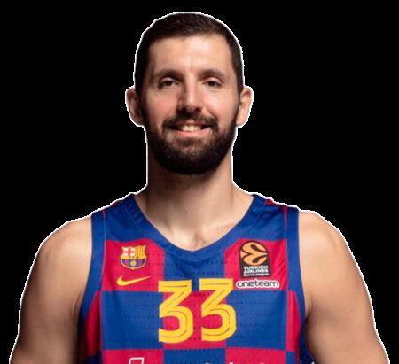 Nikola Mirotic es uno de los alapívots del Barcelona Balonesto 2020-21