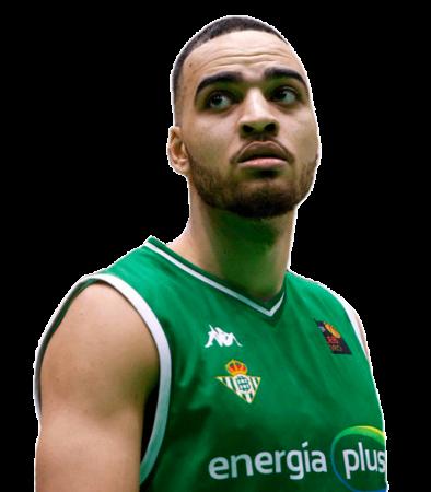 Obi Enechionyia es uno de los jugadores del Coosur Real Betis 2020-2021