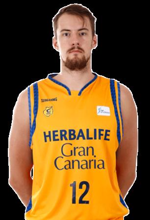 Ondrej Balvin es uno de los jugadores del Bilbao Basket 2020-2021