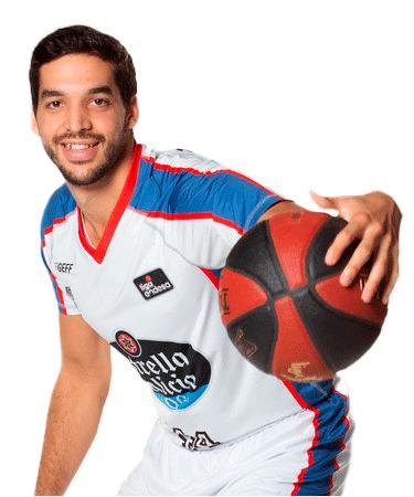 Pepe Pozas es uno de los jugadores del Obradoiro 2020-2021