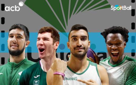 Jugadores actuales de la plantilla del Unicaja Málaga