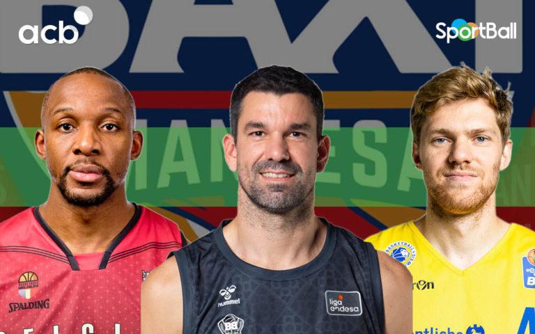 Jugadores actuales del BAXI Manresa
