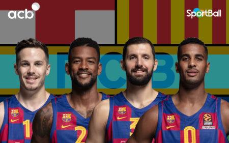 Jugadores actuales de la plantilla del Barcelona Baloncesto