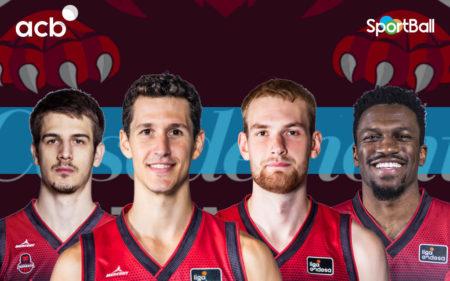 Jugadores actuales del Basket Zaragoza