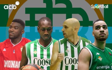 Jugadores actuales del del Coosur Real Betis