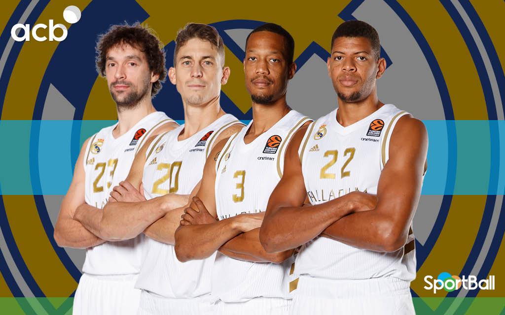 Jugadores actuales de la plantilla del Real Madrid Baloncesto