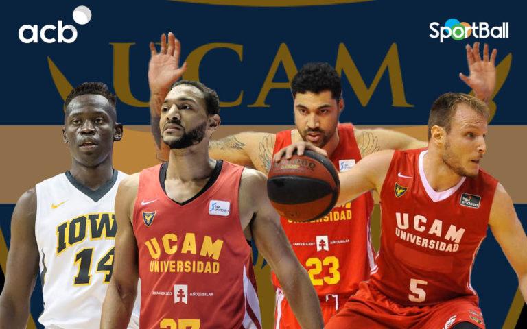 Jugadores actuales del UCAM Murcia