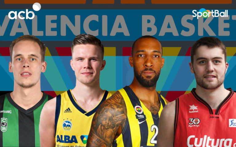 Jugadores actuales de la plantilla del Valencia Basket