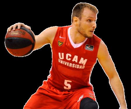 Rafa Luz es uno de los jugadores del UCAM Murcia 2020-2021