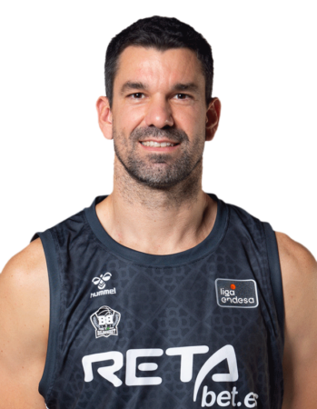 Rafa Martínez es uno de los jugadores del BAXI Manresa 2020-2021