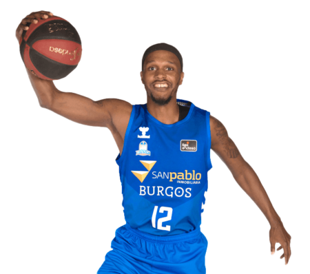 Thaddeus McFadden es uno de los jugadores del San Pablo Burgos 2020-2021