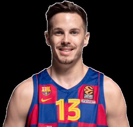 Thomas Heurtel es uno de los bases del Barcelona Balonesto 2020-21