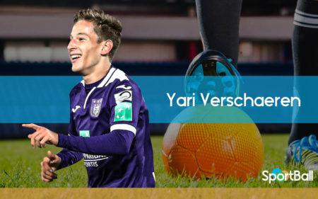 Yari Verschaeren es uno de los mejores centrocampistas jóvenes belgas