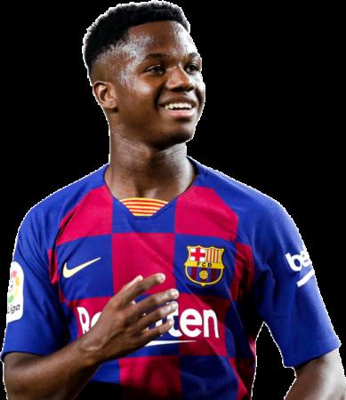 Ansu Fati es uno de los jugadores del Barcelona 2020-2021