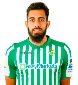 Borja Iglesias es uno de los jugadores del Betis 2020-2021