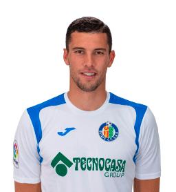 David Soria es uno de los jugadores del Getafe 2020-2021