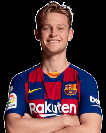De Jong es uno de los jugadores del Barcelona 2020-2021