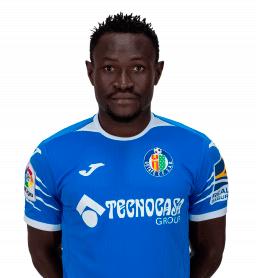 Djené es uno de los jugadores del Getafe 2020-2021