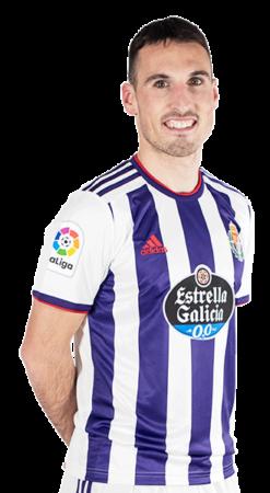 Fede San Emeterio es uno de los jugadores del Valladolid 2020-2021
