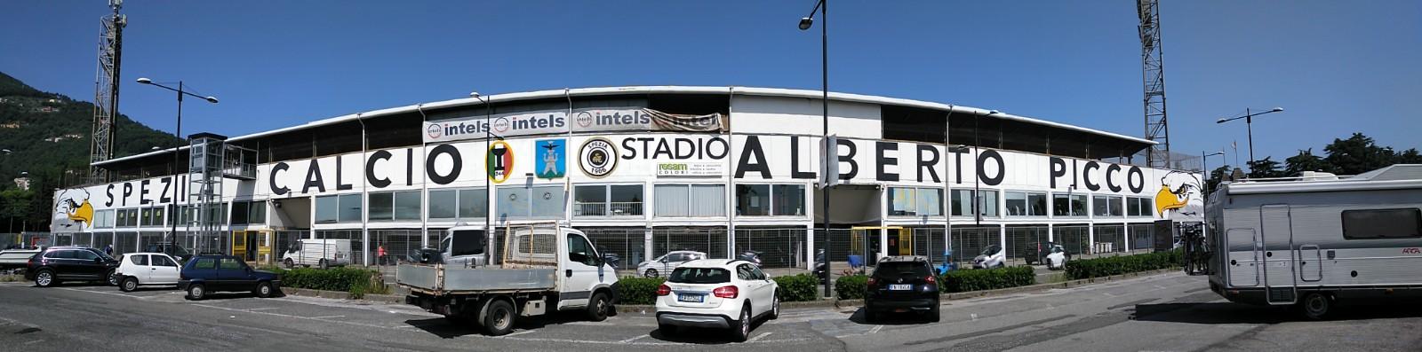 Stadio Alberto Picco, casa del Spezia Calcio.