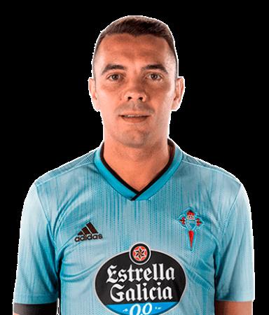 Iago Aspas es uno de los jugadores del Celta de Vigo 2020-2021