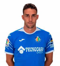 Jaime Mata es uno de los jugadores del Getafe 2020-2021