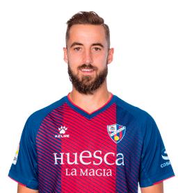 Jorge Pulido es uno de los jugadores del Huesca 2020-2021