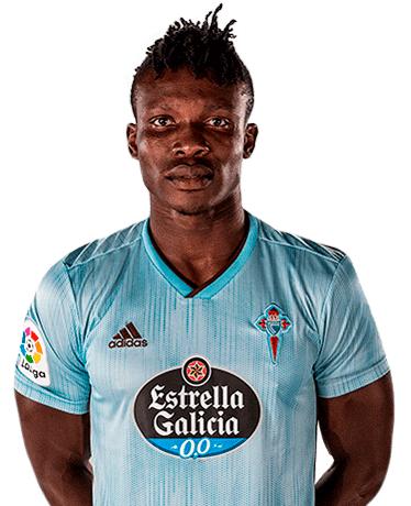 Plantilla del Celta de Vigo 2020-2021: Joseph Aidoo
