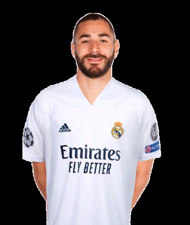 Karim Benzema es uno de los jugadores del Real Madrid 2020-2021