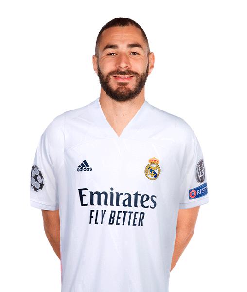 Plantilla del Real Madrid 2020-2021: Karim Benzema