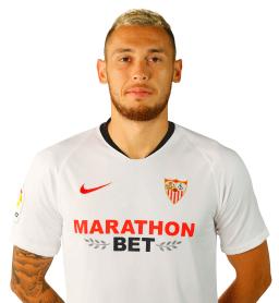 Lucas Ocampos es uno de los jugadores del Sevilla 2020-2021