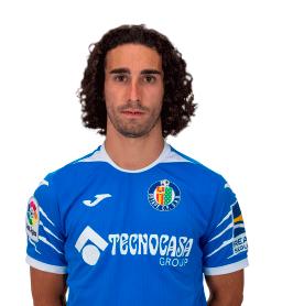 Marc Cucurella es uno de los jugadores del Getafe 2020-2021