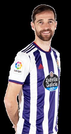 Míchel es uno de los jugadores del Valladolid 2020-2021
