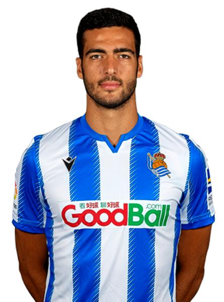 Plantilla de la Real Sociedad 2020-2021: Mikel Merino