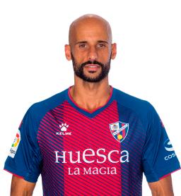 Mikel Rico es uno de los jugadores del Huesca 2020-2021