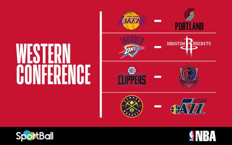 NBA Playoffs Oeste 2020