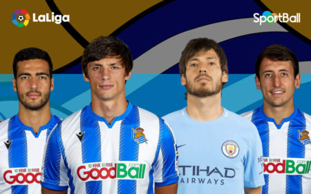 Jugadores actuales de la plantilla de la Real Sociedad