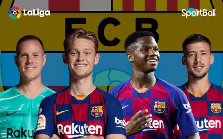 Jugadores actuales de la plantilla del Barcelona