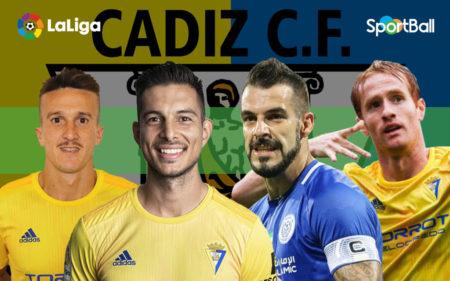 Jugadores actuales de la plantilla Cádiz