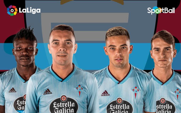 Jugadores actuales de la plantilla Celta de Vigo