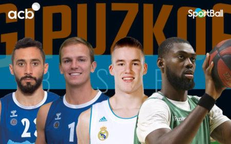 Jugadores actuales del del Gipuzkoa Basket