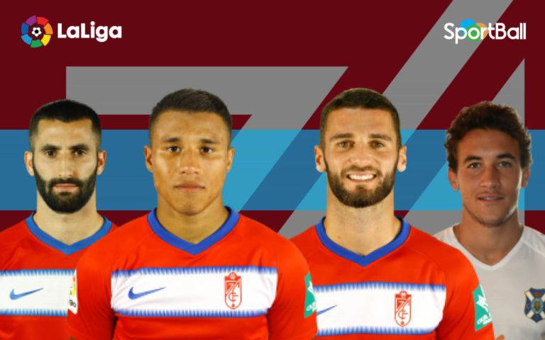 Jugadores actuales de la plantilla del Granada