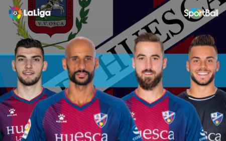 Jugadores actuales de la plantilla del Huesca