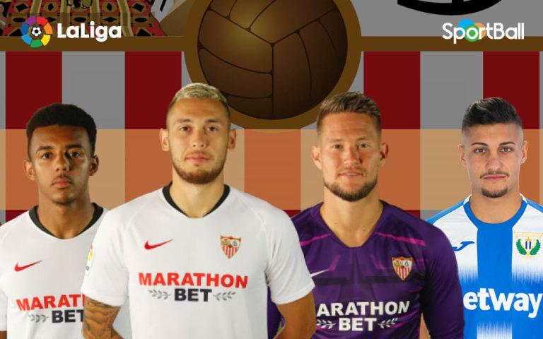 Jugadores actuales de la plantilla del Sevilla