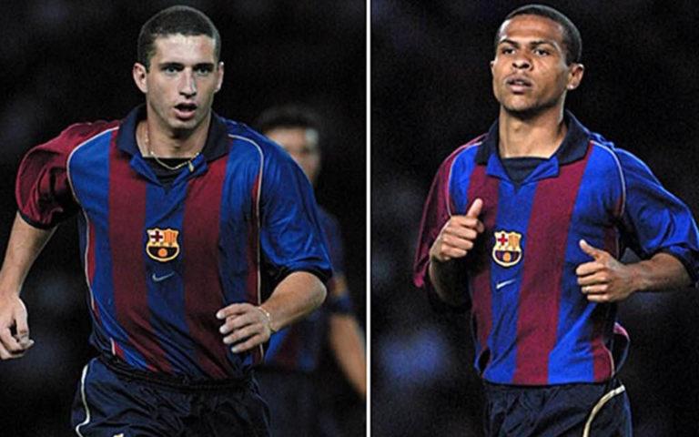 Rochemback y Geovanni, dos de los peores fichajes del Barcelona en su historia
