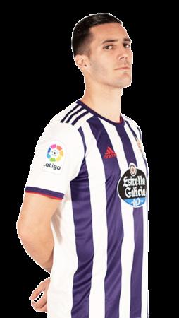 Sergi Guardiola es uno de los jugadores del Valladolid 2020-2021